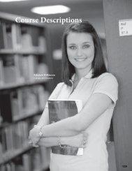 Course Descriptions - Alvin Community College