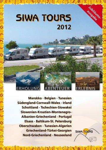 Katalog SIWA-TOURS 2012
