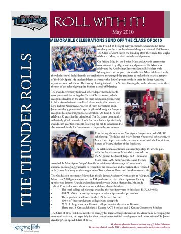 Newsletter 3 - St. James Academy