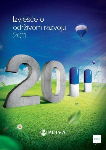 Izvješće o održivom razvoju 2011. - Pliva