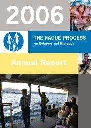 Annual Report 2006 - The Hague Process on Refugees and Migration