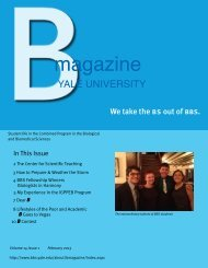 B Magazine Volume 14 Issue 1 - Biological and Biomedical ...