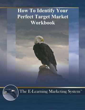 How To Identify Your Perfect Target Market Workbook