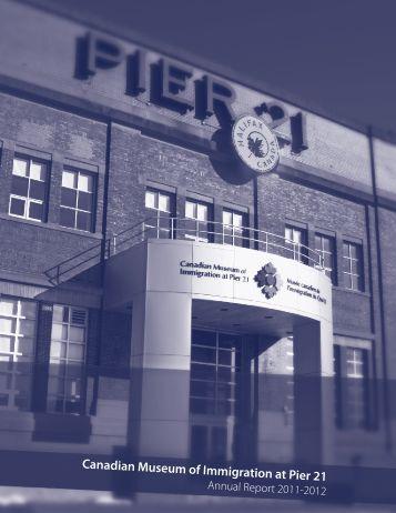 Annual Report 2011 - 2012 - Pier 21