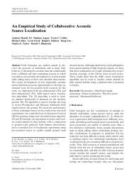 An Empirical Study of Collaborative Acoustic Source Localization