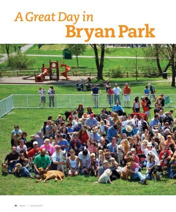 A Great Day in Bryan Park - Bloom Magazine