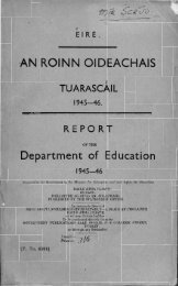 1945-1946 - Department of Education and Skills