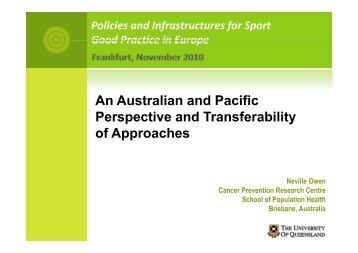 A A t li dP ifi An Australian and Pacific Perspective ... - Impala-eu.org