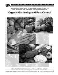Organic Gardening and Pest Control - Bullitt County Cooperative ...