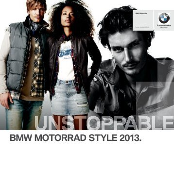 BMW MOTORRAD STYLE 2013.