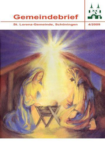 Download Gemeindebrief - Ev.- luth. Kirchengemeinde St. Lorenz