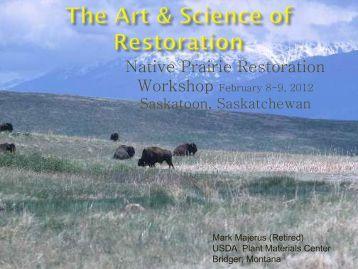 Native Prairie Restoration Workshop