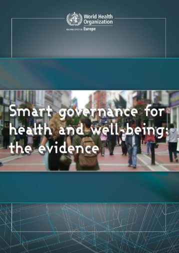 Smart-governance-for-health-and-well-being-the-evidence