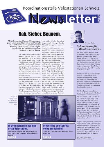 Dezember 2008 - Velostationen Schweiz