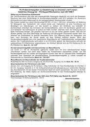 PU-Probenahmesystem zur Bestimmung von ... - Paul Gothe GmbH