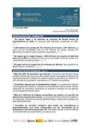3º Trimestre Panorama TIC en América Latina ... - N-Economía