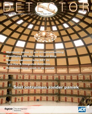 Nummer 1, najaar 2007 - tyco fire & integrated solutions: red liv nu