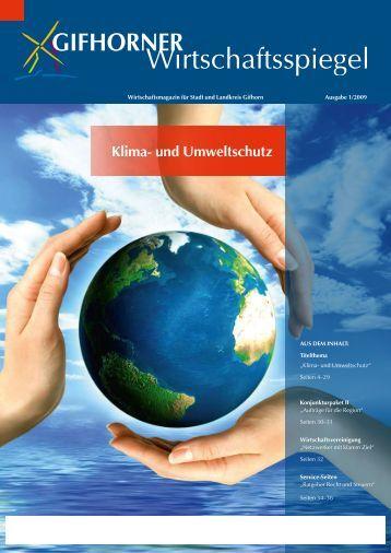 Klima- und Umweltschutz