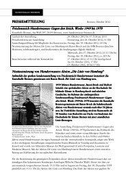 PM_KHB Hundertwasser_Die Linie von Hamburg - Kunsthalle Bremen