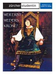 WER ERBT WEDERS KRONE? - Zs-online.ch