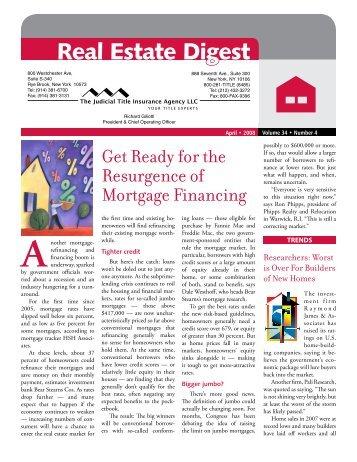 Real Estate Digest - April 2008