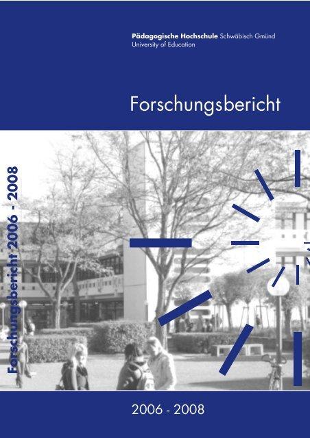 Pdf Datei Pädagogische Hochschule Schwäbisch Gmünd