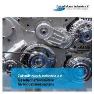 Flyer 2013 - Zukunft durch Industrie