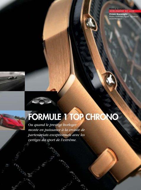 FORMULE 1 TOP CHRONO - Magazine Sports et Loisirs