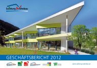 GESCHÄFTSBERICHT 2012 - Salzburg Wohnbau
