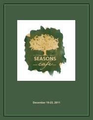 December 19-23, 2011
