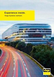Prospekt Experience inside: Viega Systeme weltweit.