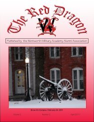 Red Dragon Vol 2 Issue 2 - Wentworth Military Academy & College