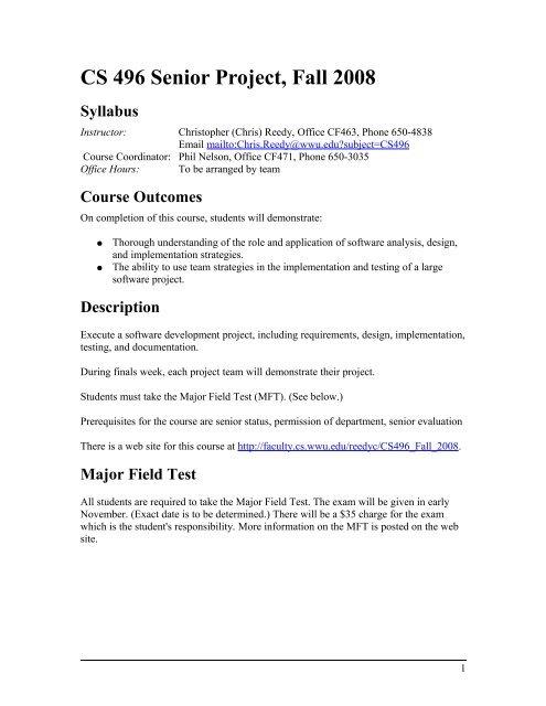 Current Syllabus Pdf