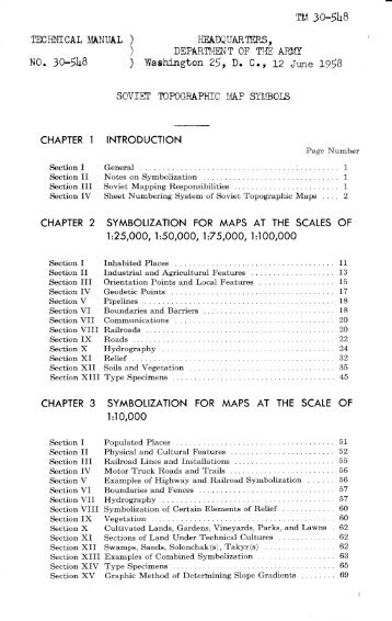 Bathymetric features area soviet topographic map symbols chapter 1 armchair general sciox Images