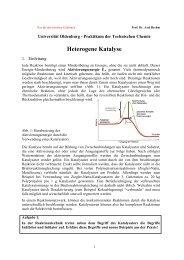 Heterogene Katalyse