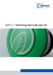 ecoPlus – Technology that really pays off - HOMAG Group