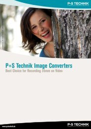 P+S Technik Image Converters