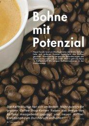 Bohne mit Potenzial Die Kaffeekultur hat sich ... - Pauli Cuisine
