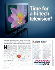 Time for a hi-tech television?