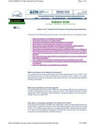 Page 1 of 4 FAQ: ENERGY STAR Labeled Roof Products 5/22/2002 ...
