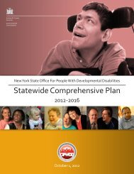 NYS Office of People with Developmental Disabilities