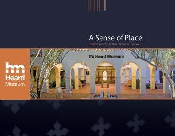 A Sense of Place Heard - Heard Museum