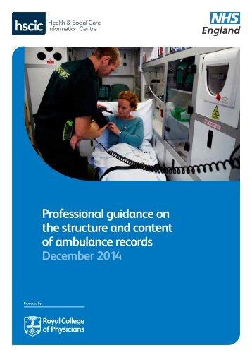 ambulance-records-guidance-dec-2014