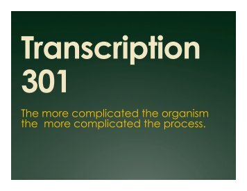 Transcription 301.pptx