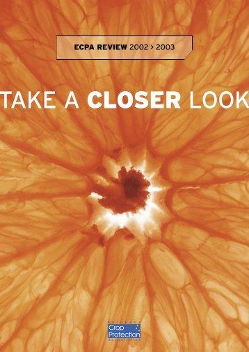 ECPA Annual Report 2002 - 2003 - European Crop Protection ...