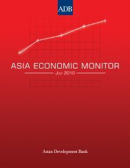 Asia Economic Monitor - July 2010 - AsianBondsOnline - Asian ...