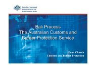 Bali Process The Australian Customs and Border Protection Service ...