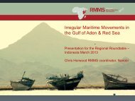 Challenges in the Gulf of Aden and Best Practices ... - Bali Process