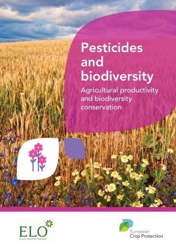 Pesticides and biodiversity - European Crop Protection Association