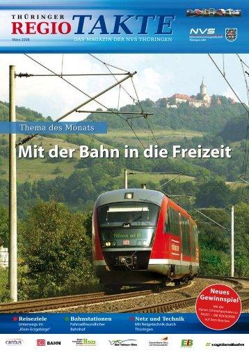 Mit der Bahn in die Freizeit - NVS Nahverkehrsservicegesellschaft ...